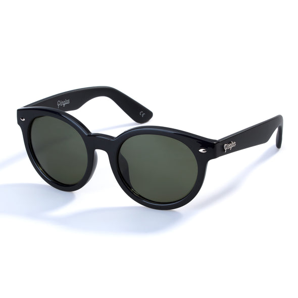 PINGLAS  Round Fashion Sunglasses  100% UV protection Polarized Lens - myglassesmart.com