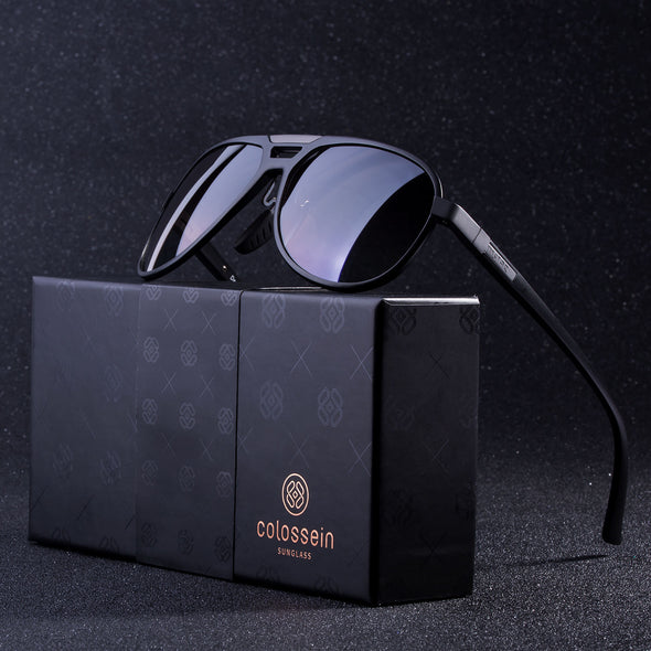 COLOSSEIN MSTAR POLARIZED SUNGLASSES FOR MEN,ALUMINUM FRAME UV400 LENSES - myglassesmart.com