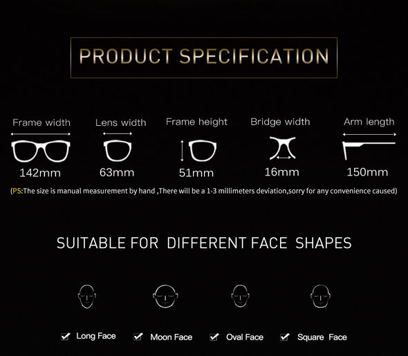 Square Stylish Sunglasses for Women