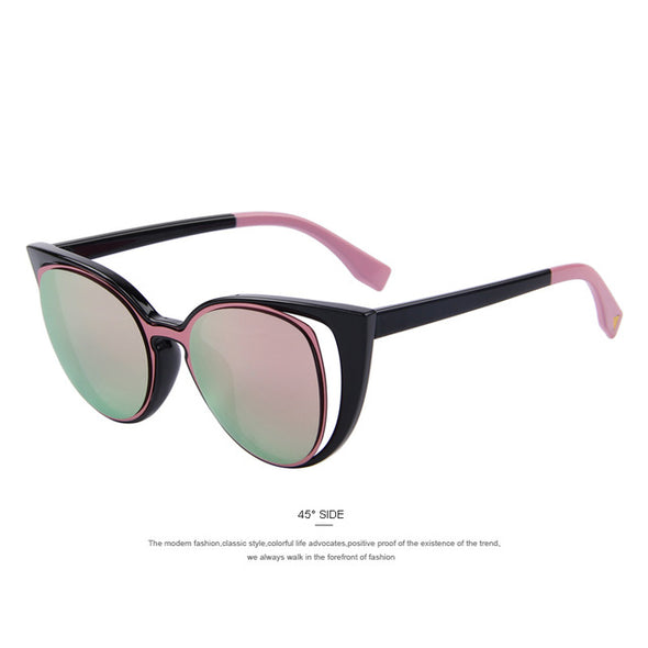 MERRY'S Fashion Cat Eye Sunglasses Women Brand Designer Retro Pierced Female Sun Glasses oculos de sol feminino UV400 - myglassesmart.com