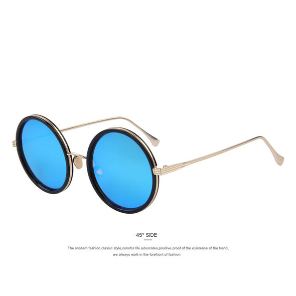 MERRY'S Fashion Women Round Sunglasses Brand Designer Classic Shades Men Luxury Sunglasses UV400 - myglassesmart.com