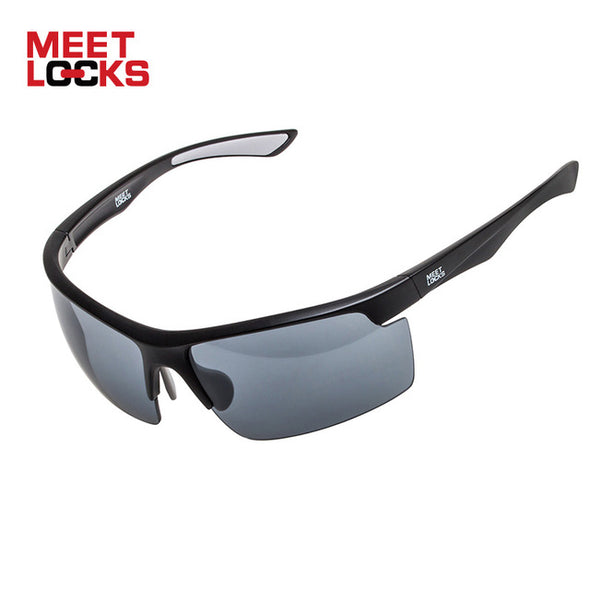 MEETLOCKS Sports Sunglasses UV400 Protection For Bike Riding Cycling Running Hiking - myglassesmart.com