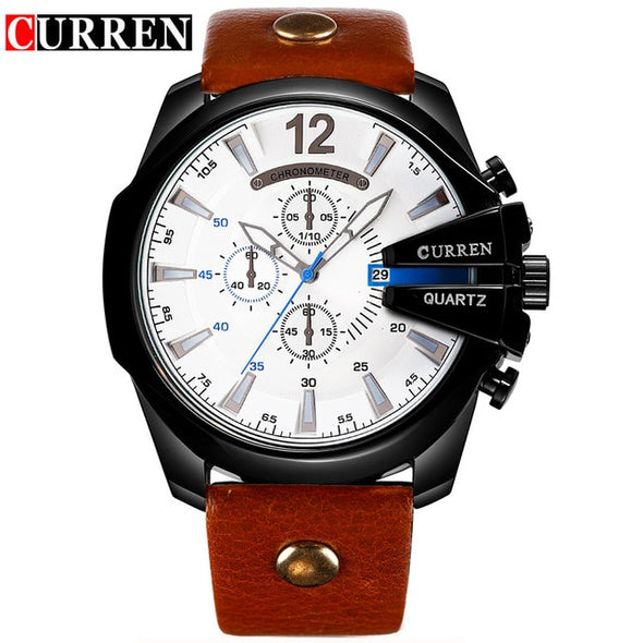 Relogio Masculino CURREN Men Watches 2016 Top Luxury Popular Brand Watch Man Quartz Gold Watches Men Clock Men's Watch 8176 - myglassesmart.com