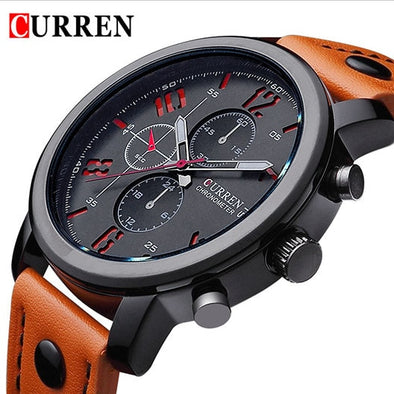 New Hot Curren Luxury casual men watches analog military sports watch quartz male wristwatches relogio masculino montre homme - myglassesmart.com