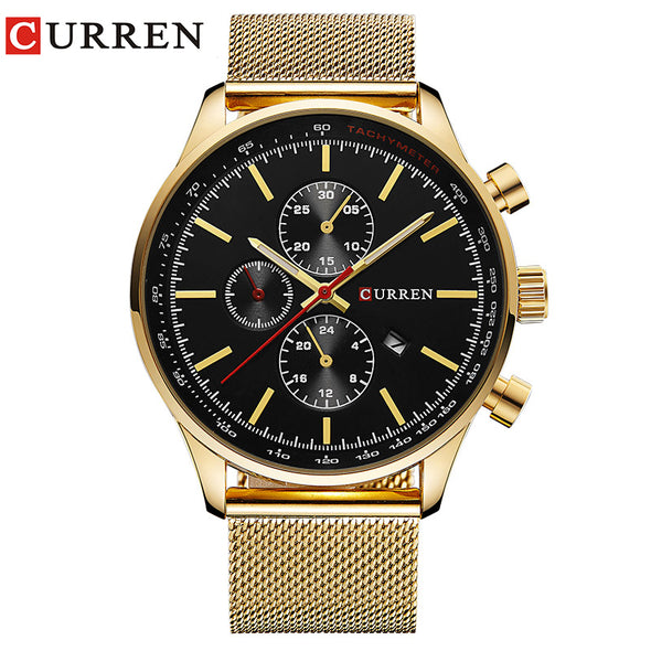 CURREN  Watch Men Fashion Casual Full Sports Watches Relogio Masculino Business relojes Quartz watch 8227 - myglassesmart.com