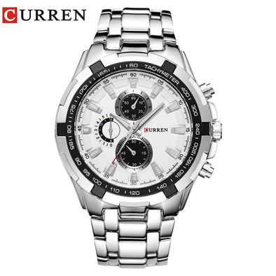 Relogio Masculino CURREN Watches Men quartz army Watch Top Brand Waterproof   male Watches Men Sports - myglassesmart.com