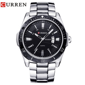 NEW curren  watches men Top Brand fashion watch quartz watch male relogio masculino men Army  sports Analog Casual  8110 - myglassesmart.com