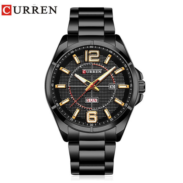 Curren 2017 men watches relogio masculino luxury military wristwatches fashion casual quartzwatch water Resistant calendar 8271 - myglassesmart.com