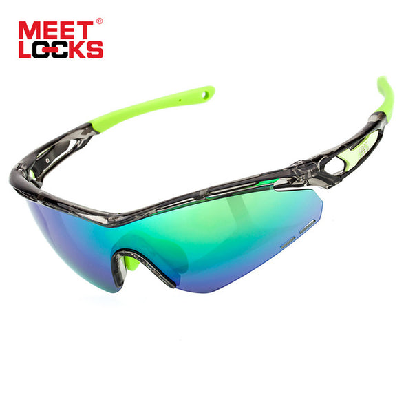 MEETLOCKS Sports Sunglasses TR90 Frame with SUPER OLEOPHOBIC and NANO-HARD COATING LENS - myglassesmart.com