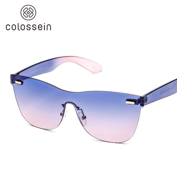 Square Purple and Pink Stylish Sunglasses for Women