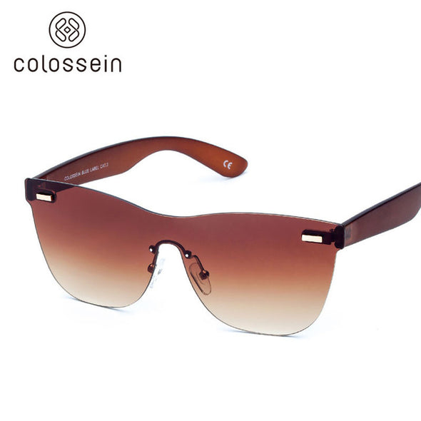 Square Brown Stylish Sunglasses for Women