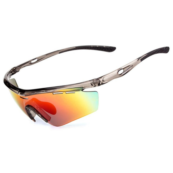 Meetlocks Professional Cycling Sunglasses  UV400 Protection Shatterproof Riding Eyewear  SPTR0005 - myglassesmart.com