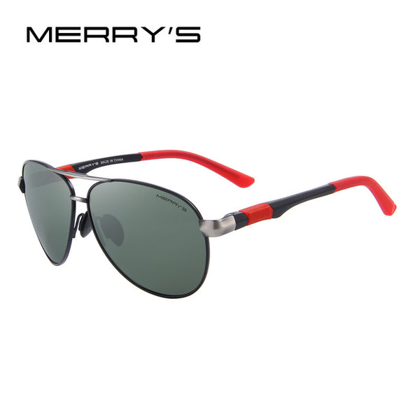 MERRY'S Men Brand Sunglasses HD Polarized Glasses High quality With Original Case - myglassesmart.com