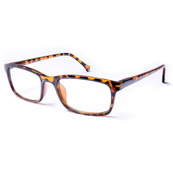 Square Retro Reading Glasses Classic Spring Hinge Frame Readers 1.00-4.00 - myglassesmart.com