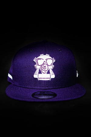 GASMASK SNAPBACK GRAPE