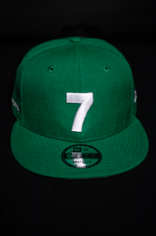 CMPD NEW ERA '7' GREEN SNAPBACK