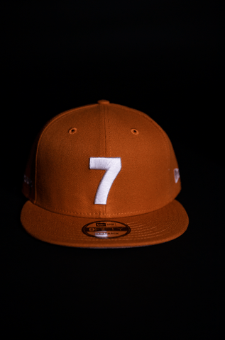 CMPD NEW ERA '7' TEXAN ORANGE SNAPBACK