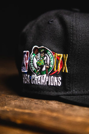 BOSTON CELTICS RETRO CHAMPIONSHIP '7' SNAPBACK