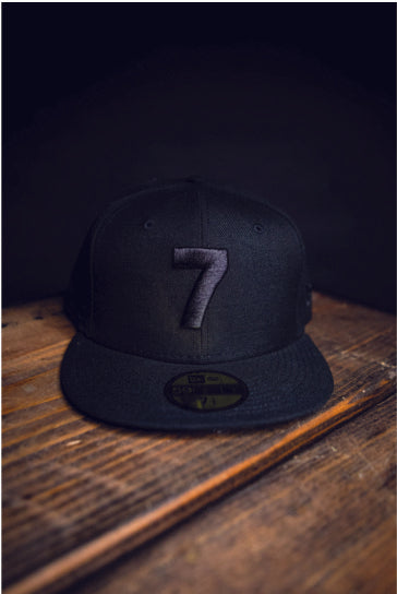 CMPD '7' DOUBLE BLACK FITTED