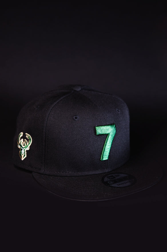 MILWAUKEE BUCKS 7 SNAPBACK
