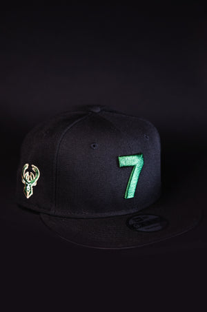 MILWAUKEE BUCKS 7 SNAPBACKS