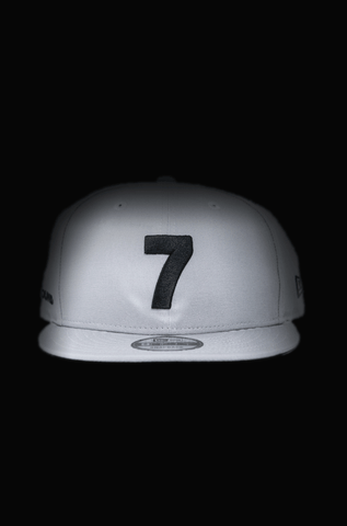 CMPD NEW ERA '7' GREY SNAPBACK