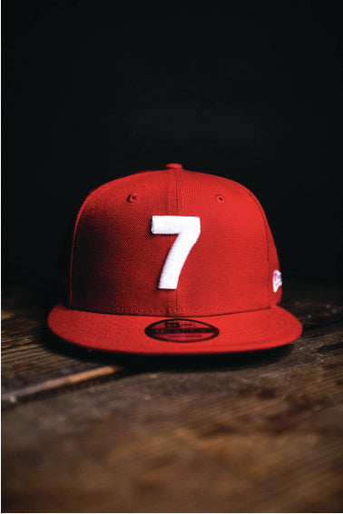 CMPD NEW ERA '7' RED SNAPBACK