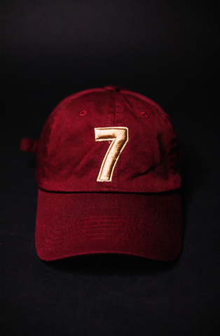 COMPOUND '7' BURGUNDY DAD HAT