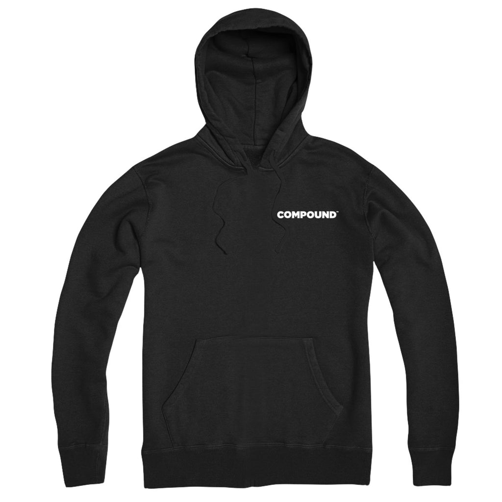 Compound Pocket Logo Hoodie