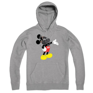 Gas Mask Mouse Hoodie