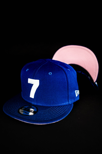 CMPD NEW ERA '7' ROYAL BLUE/PINK SNAPBACK