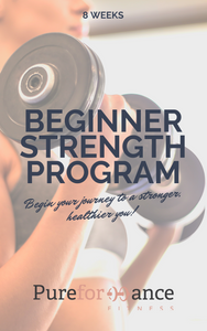 Beginner Strength Program