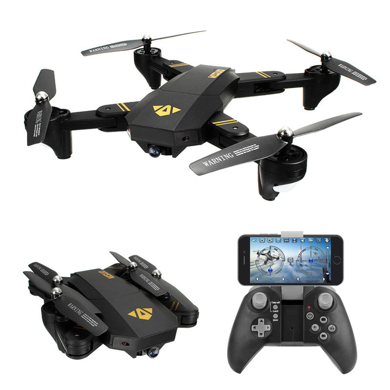 VISUO XS809HW XS809W WIFI FPV Foldable Arm FPV Quadcopter With 2MP 0.3MP