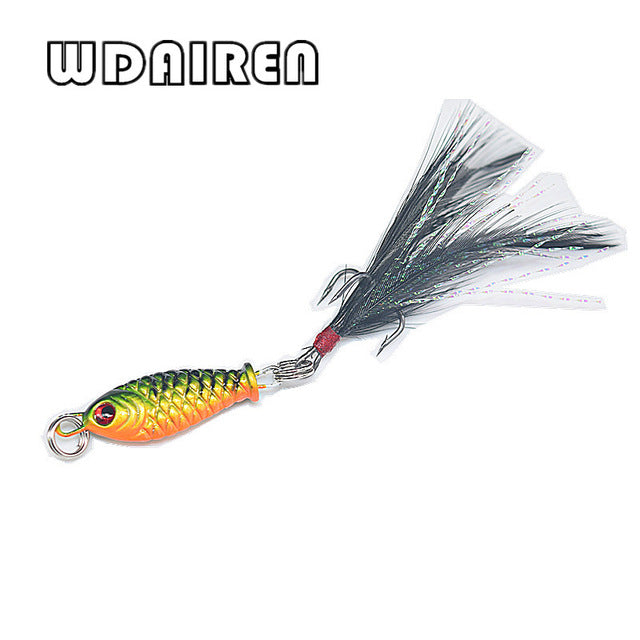 1pcs 4.6g swimbait Fishing Lure wobblers spinner metal