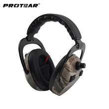 Protear Electronic Ear Protection Shooting Hunting Ear Muff Print Tactical Headset