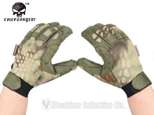 Hunting Shooting Climbing Gloves Emersongear Tactical Lightweight Camouflage
