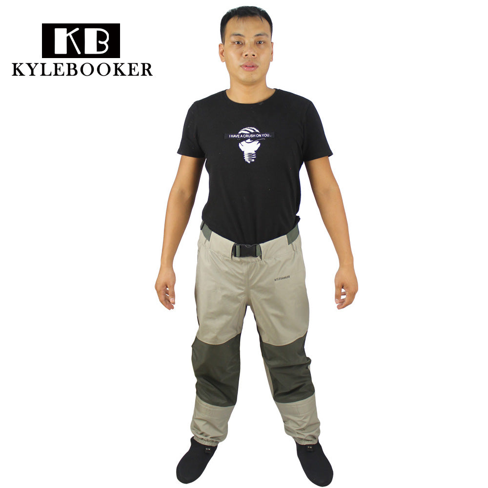 Fly Fishing Waders Pant  Breathable fishing wading waist pants, rafting wear
