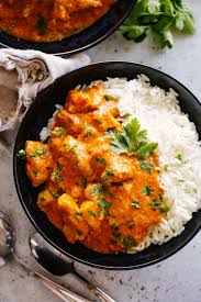 Butter Chicken with Rice (GF) - CTK