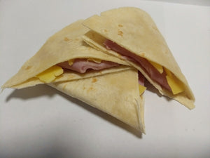 Melted ham & cheese tortilla - CTK