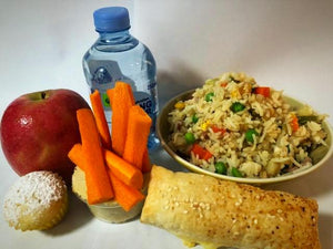 Vegan Rice Salad Lunch Pack - Carmichael College