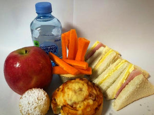Gluten Free Ham and Cheese Sandwich Lunch Pack - Carmichael College