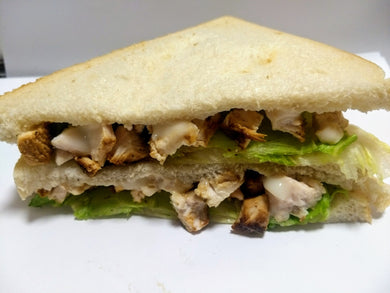 Chicken, lettuce and mayonnaise sandwich (GF) - CTK