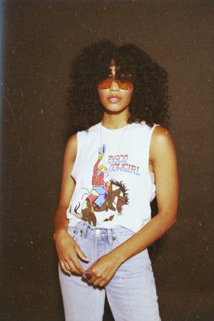 Rodeo Queen Tee- white