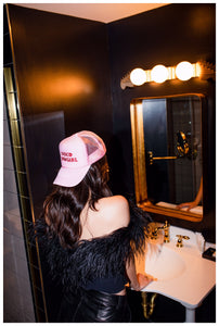 Foam Trucker Hat- rose