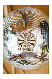 Vinyl Sticker- disco darlin' graphic