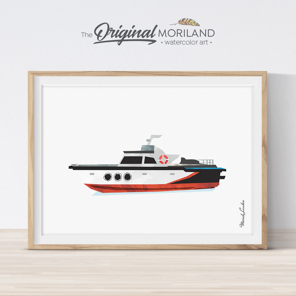 Boat Print - Printable Art