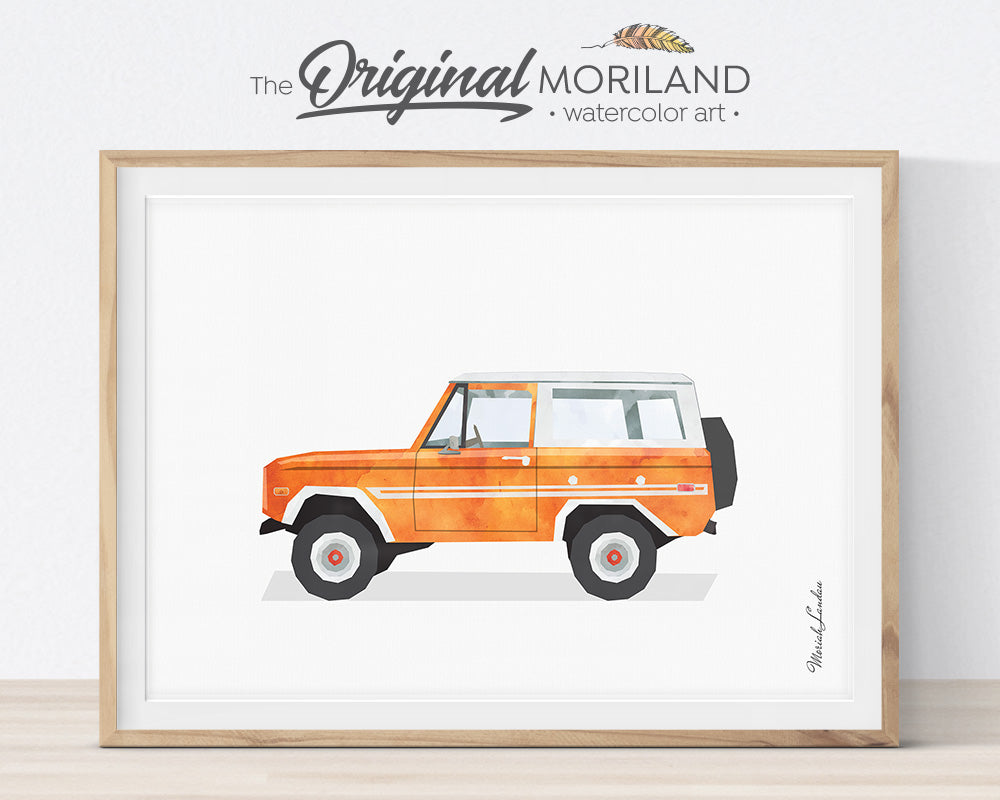 Classic Cars - Printable Set of 9 - LAND9