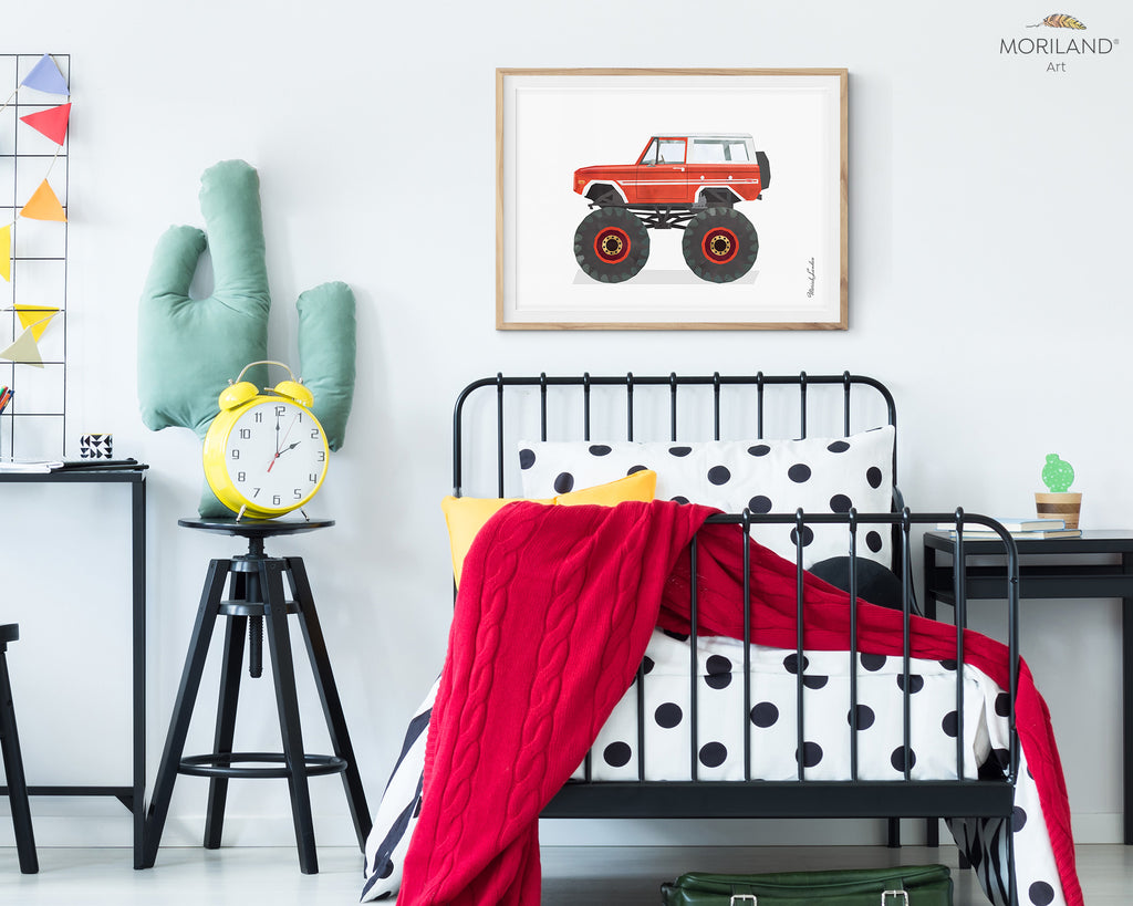 beautiful print for boy room