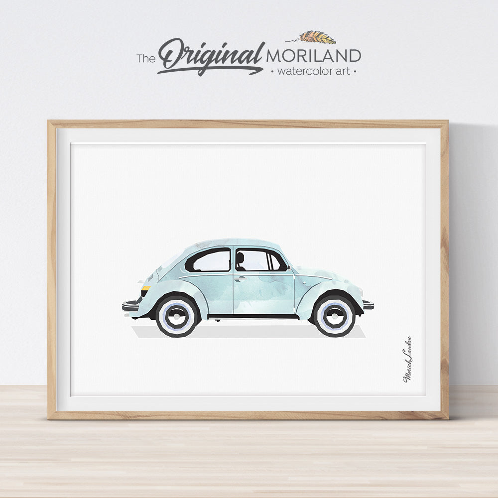 VW Bug Wall Art