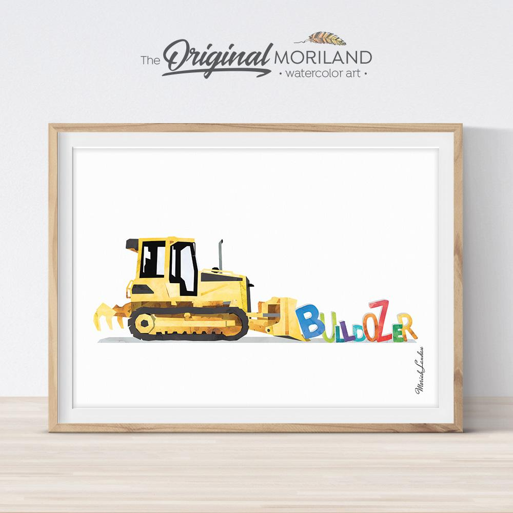 construction preschool printable art
